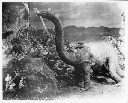 The Lost World (1925) (First ever giant monster movie!) preview 4